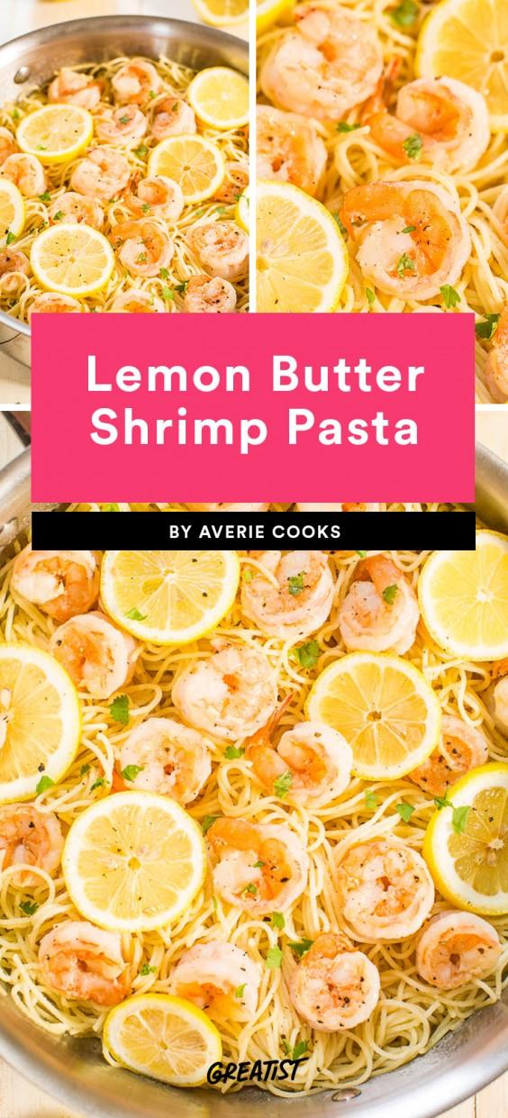 Lemon Butter Shrimp Pasta Recipe