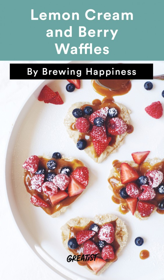 brewing happiness: Berry Waffles