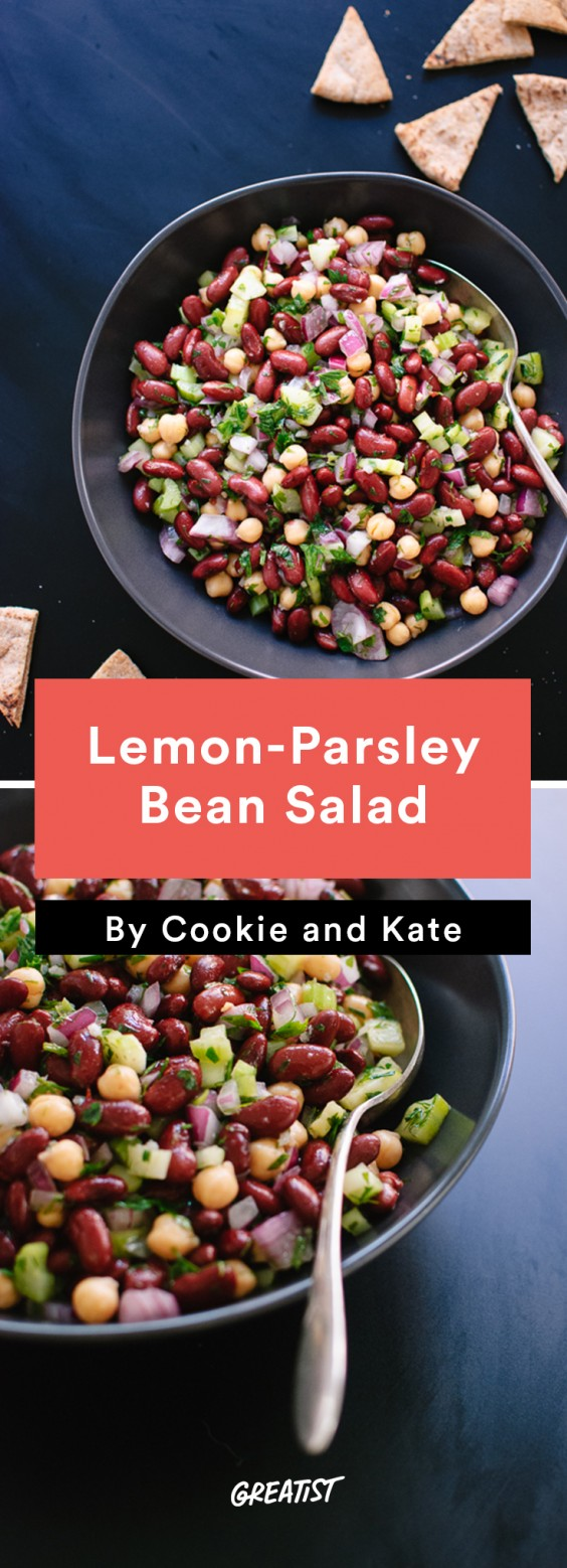 cookie and kate game day: Lemon-Parsley Bean Salad