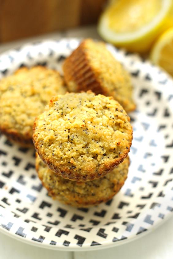 Overripe Fruit: Lemon Poppyseed Muffins