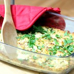 Lentil and Goat Cheese Casserole_150sq