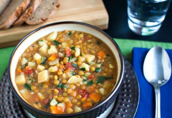 5. Lentil Vegetable Soup