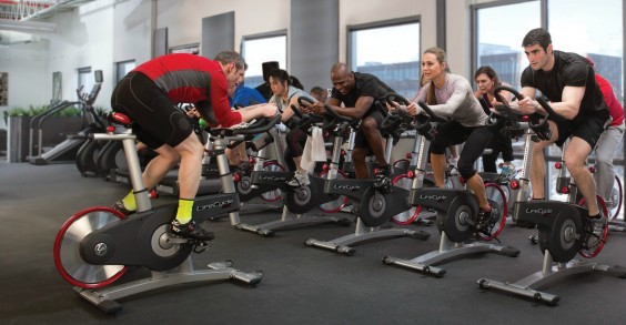 Life Fitness Spin Class