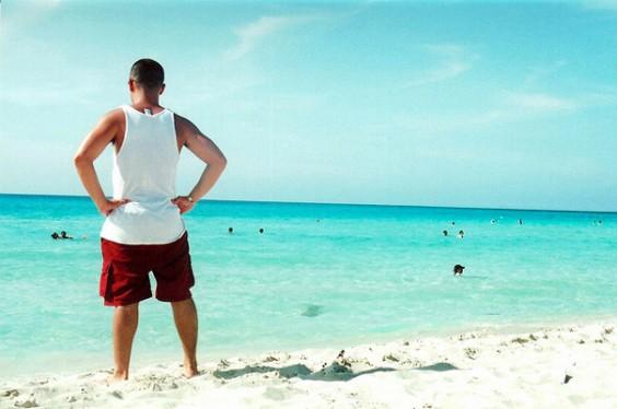 Lifeguard Watching Beach