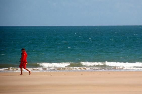 Lifeguard on Beach