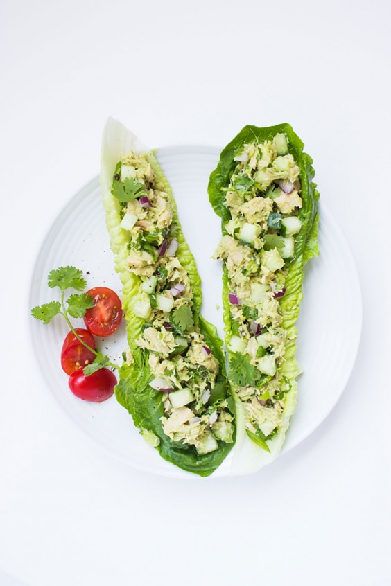 Whole30 Lunches: Healthy Avocado Tuna Salad