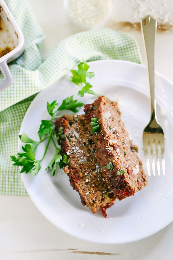 Ground Beef Recipes: Sundried Tomato and Herb Meatloaf