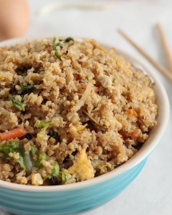 Low-Carb Cauliflower Fried Rice