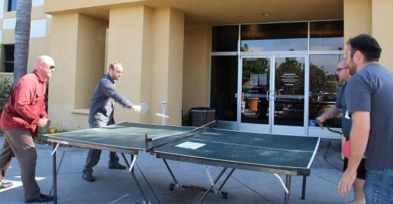 MINDBODY Employees Playing Ping-Pong