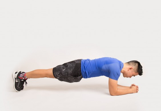 mma workout - plank - image
