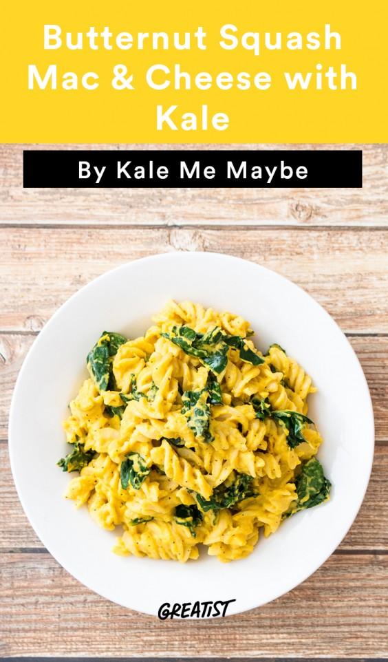 mac & cheese kale banner