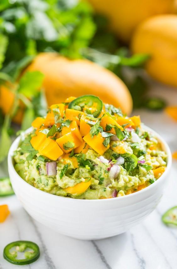 Paleo Mango Lime Guacamole Recipe