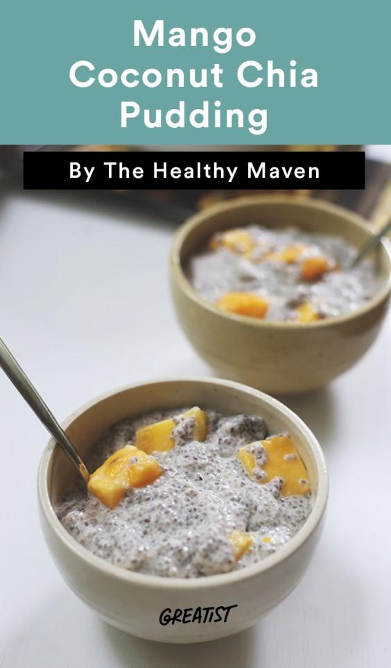 Mango Coconut Chia Pudding Recipe