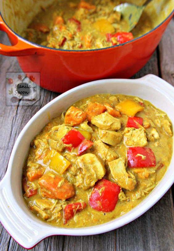 Filipino recipes that make delicious meals greatist filipino coconut chicken curry forumfinder Choice Image