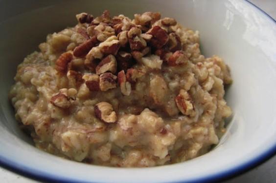 1. Maple Pecan Oatmeal