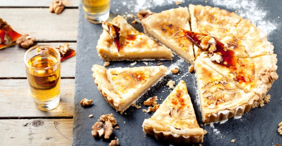 Maple Syrup Dessert Tart