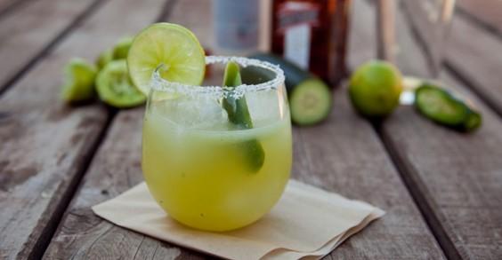 Cucumber and Jalapeño Margarita