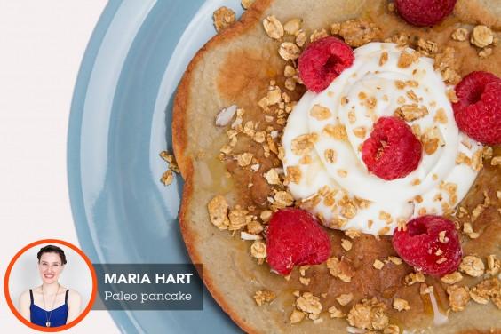 Paleo Pancake With Greek Yogurt