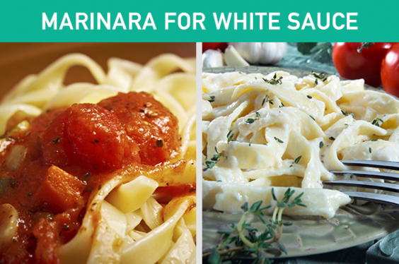 Marinara for White Sauce