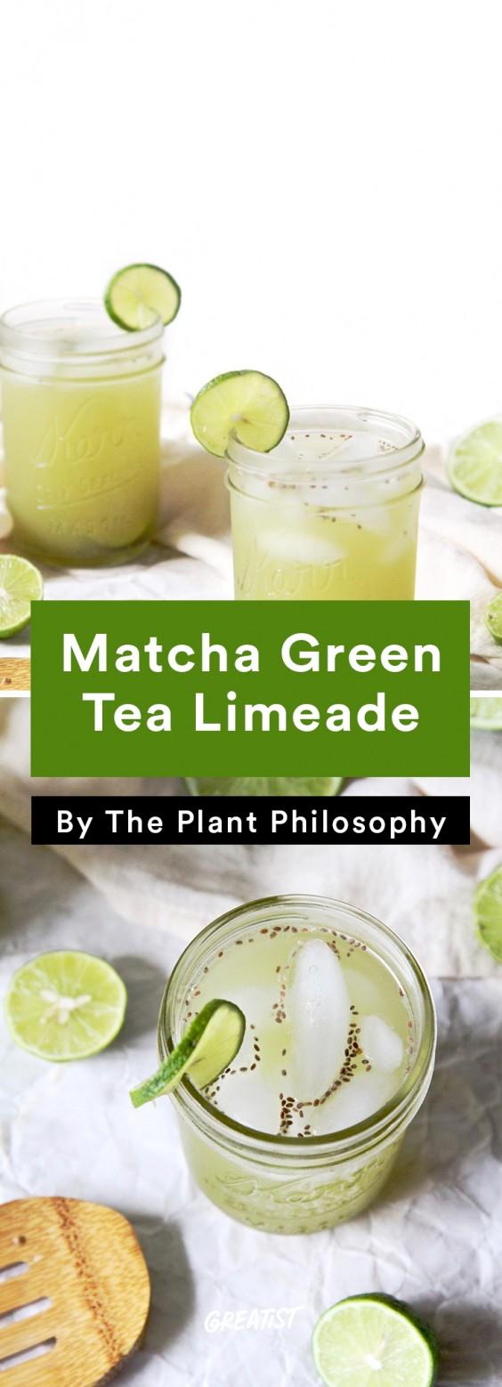 Brunch Recipes: Matcha Green Tea Limeade