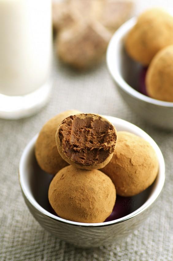 19. Vegan Chocolate Truffles