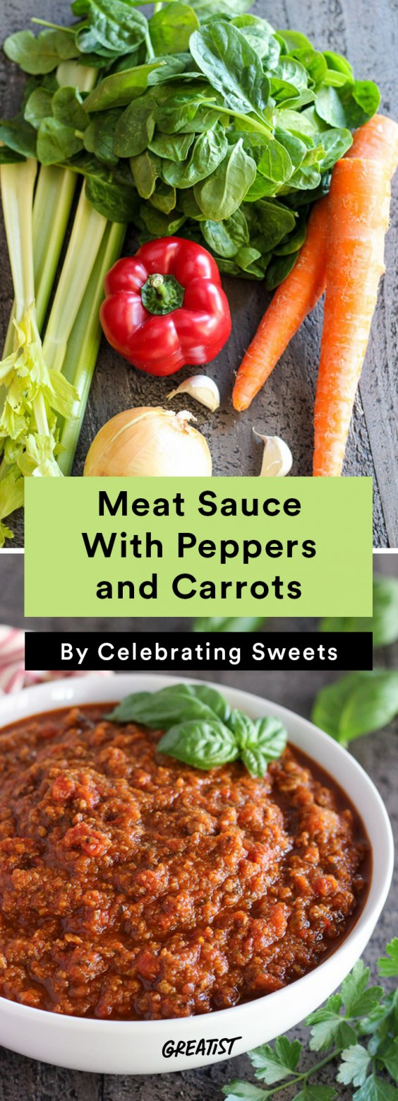 Meat Sauce With Peppers and Carrots Recipe