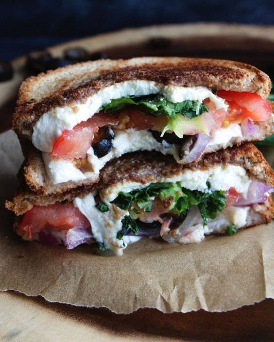 Mediterranean Grilled Cheese Recipe