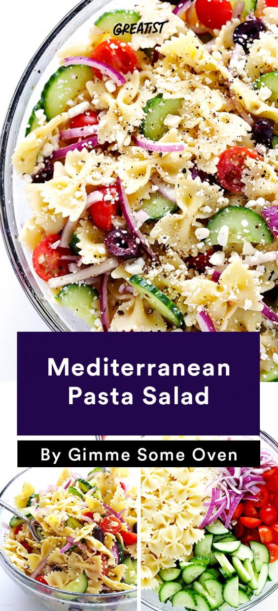 BBQ Classics: Mediterranean Pasta Salad