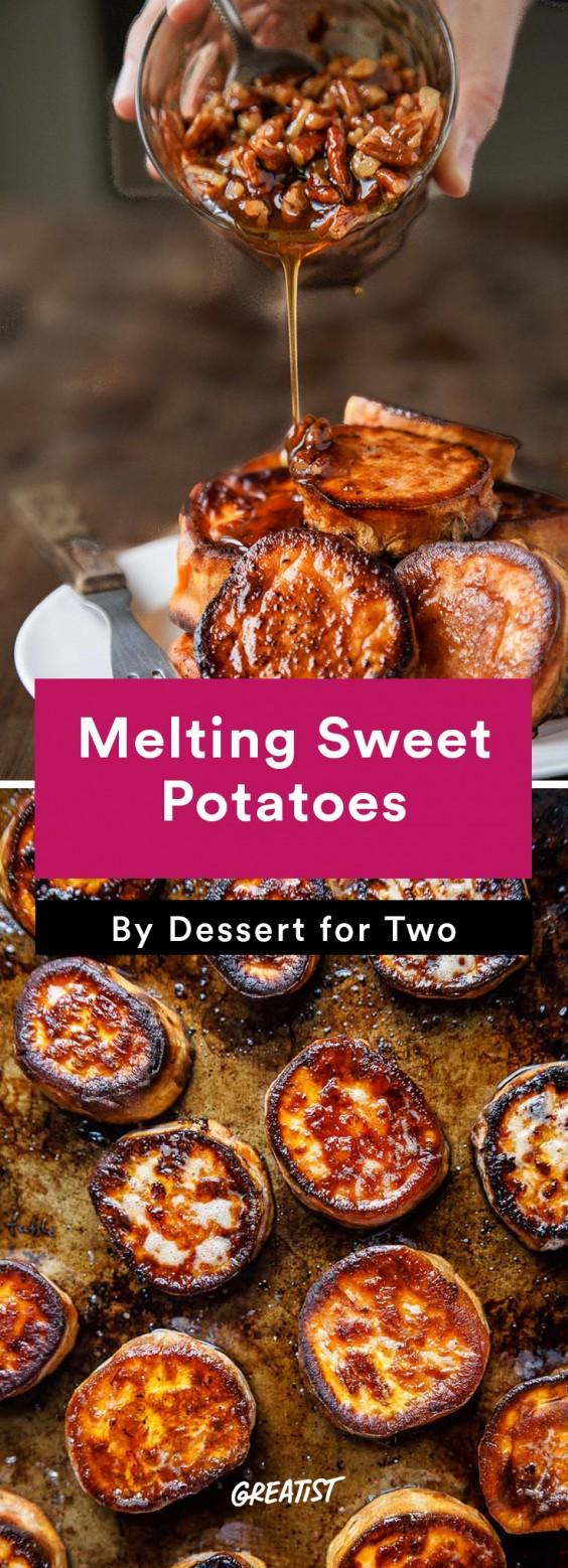 Fall Food Trends: Melting Sweet Potatoes