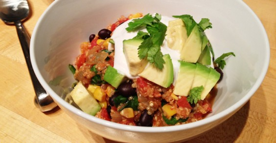 Oven-Baked Mexican Quinoa Casserole