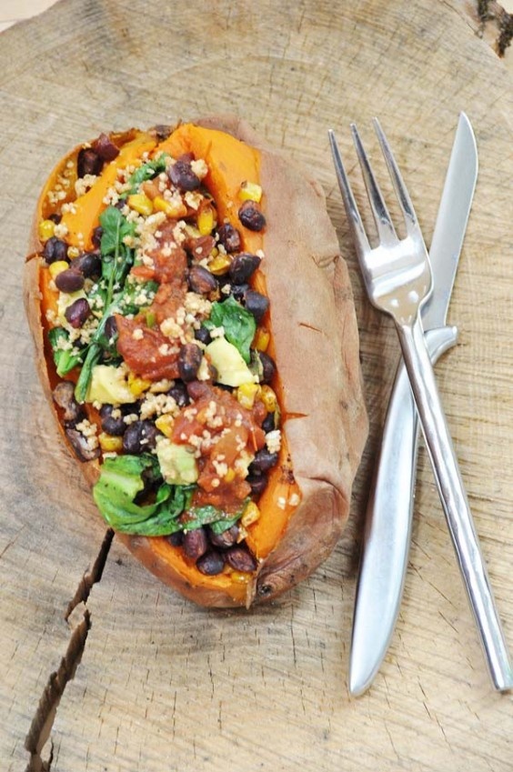 Mexican Stuffed Sweet Potato Recipe