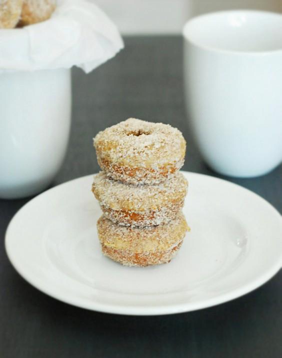 Mini Low-Carb Cinnamon Donuts