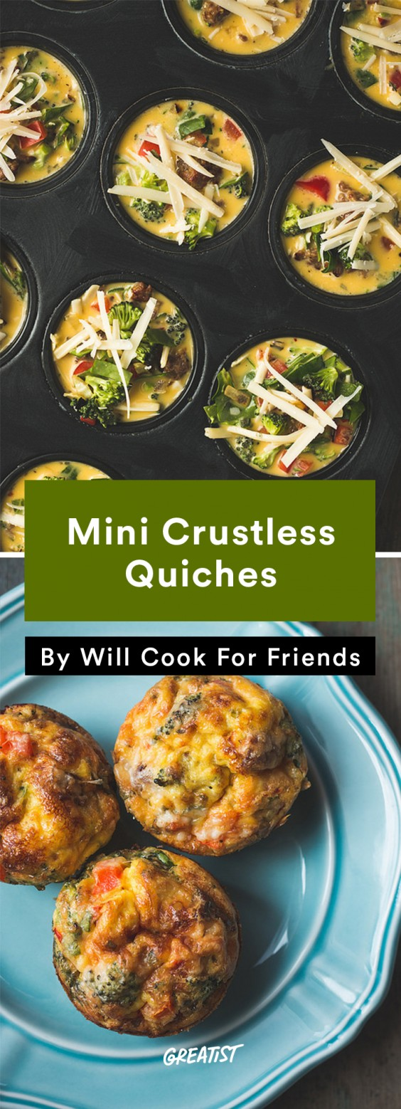 Crustless Quiche Recipes That Are Way Easier to Cook than the Original ...