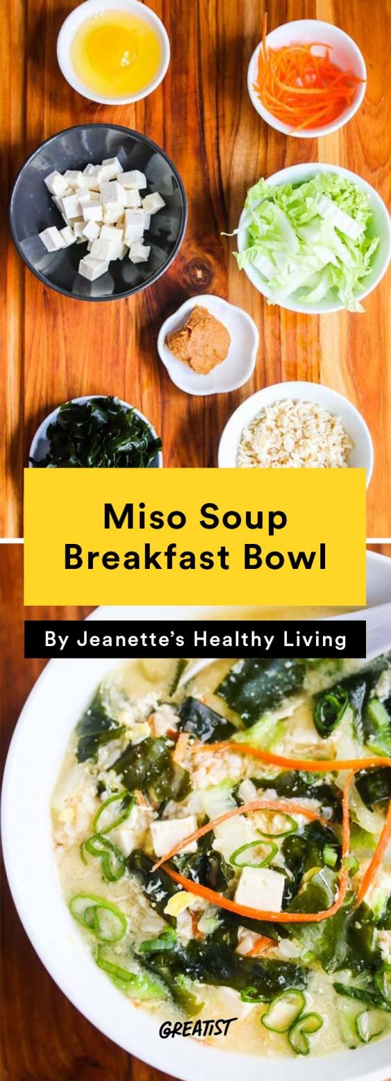 Miso Soup Breakfast Bowl
