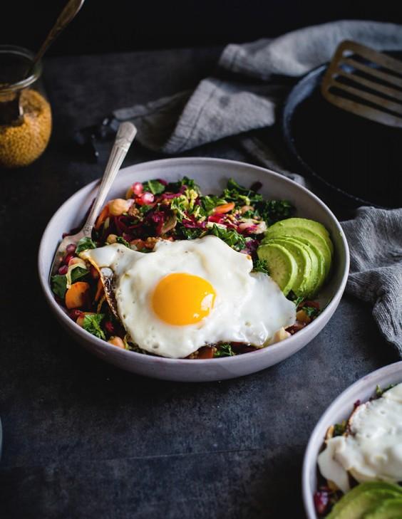 6. Miso Veggie Breakfast Bowl