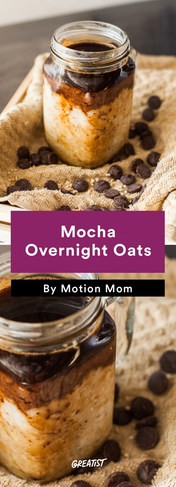 Leftover coffee: Overnight Oats