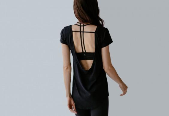 Montiel Backless Shirt
