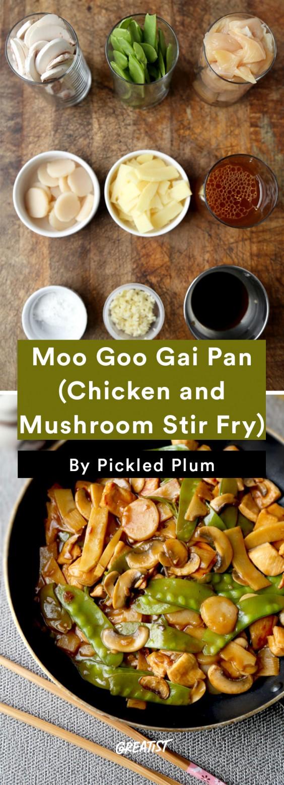 Pickled Plum: Moo Goo Gai Pan