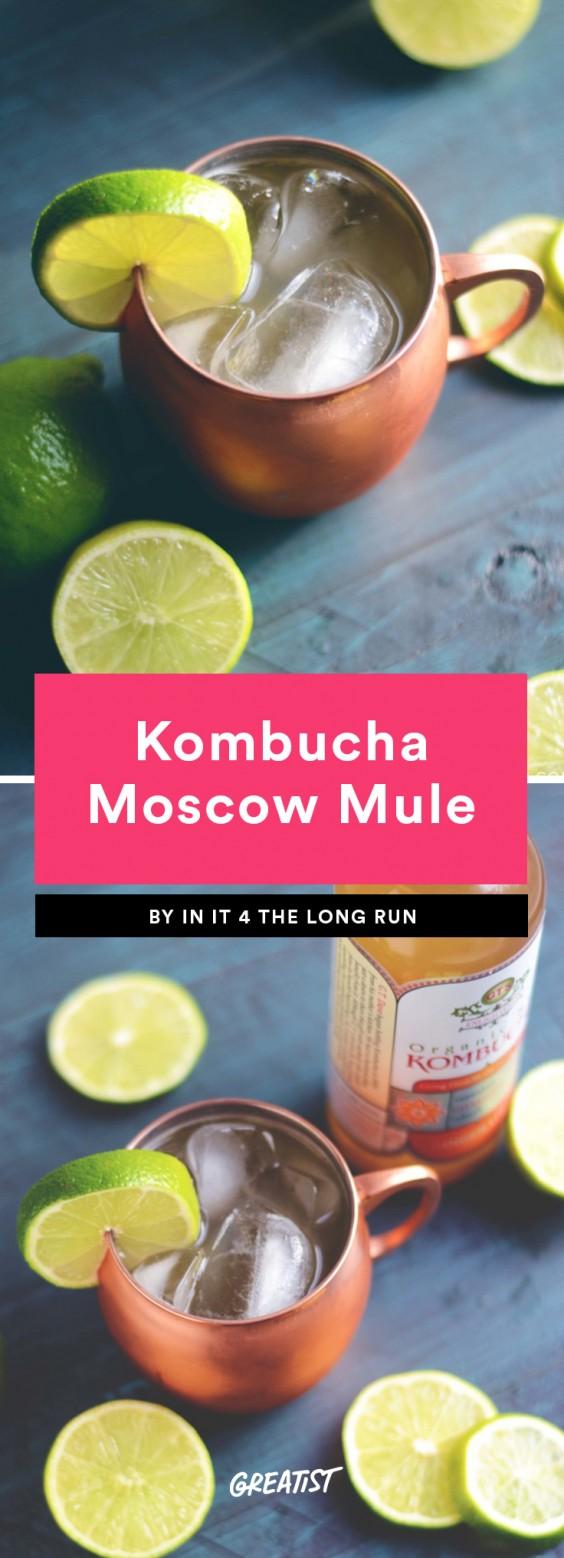 Kombucha Moscow Mule