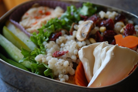 32 Healthy and Eye-Catching Bento Box Lunch Ideas: Mushrooms, Barley, and Brie