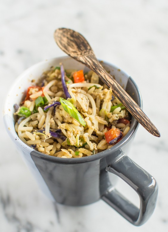 Mug Egg Fried Rice Recipe