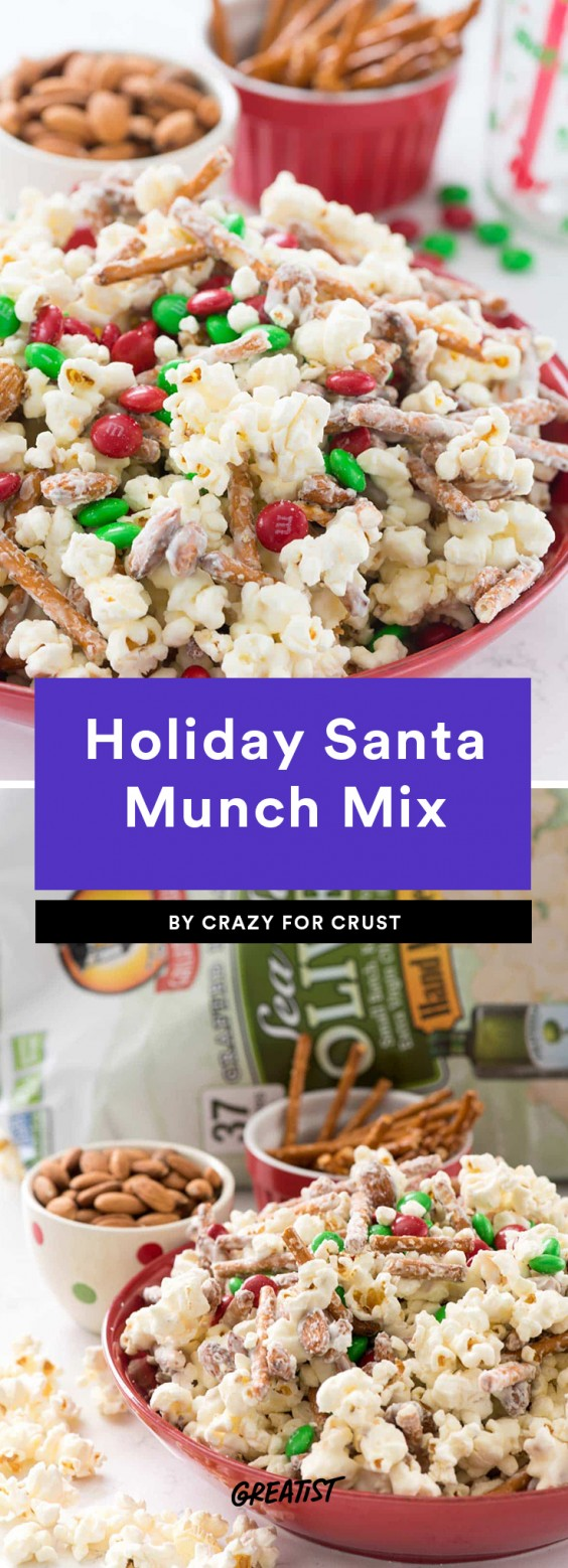 Holiday Santa Munch Mix