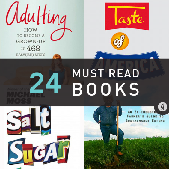 The Must-Read Books in Food, Fitness, and Happiness in 2013