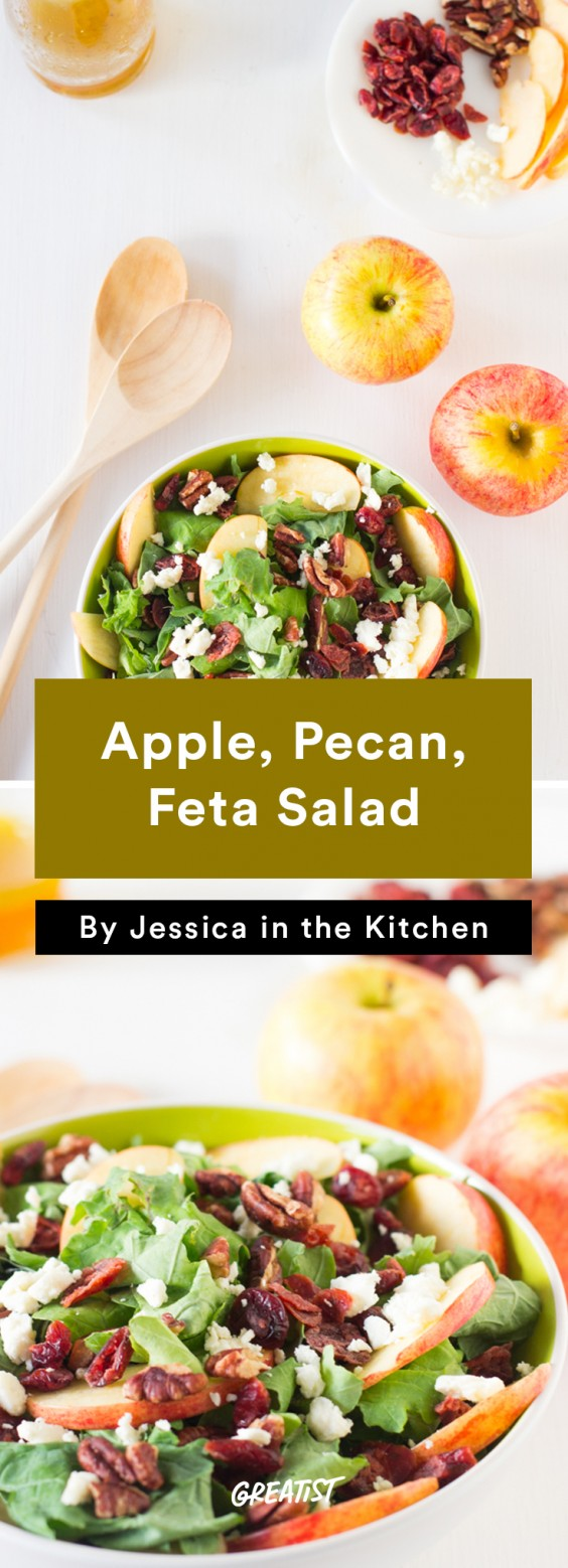 Apple, Pecan, and Feta Salad