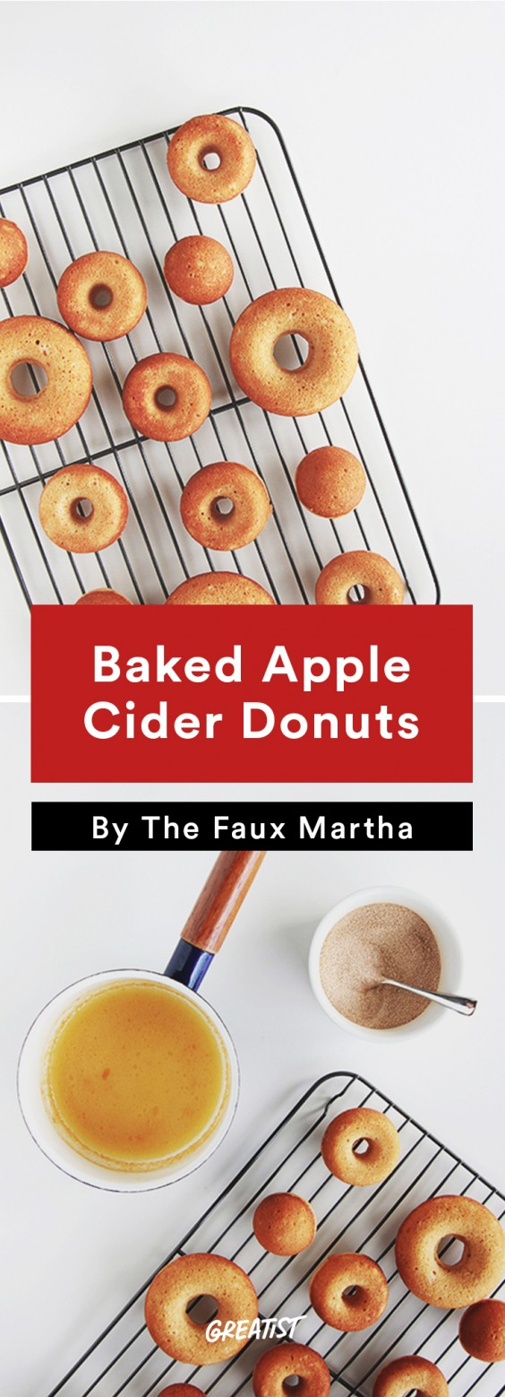 Fall Food Trends: Baked Apple Cider Donuts