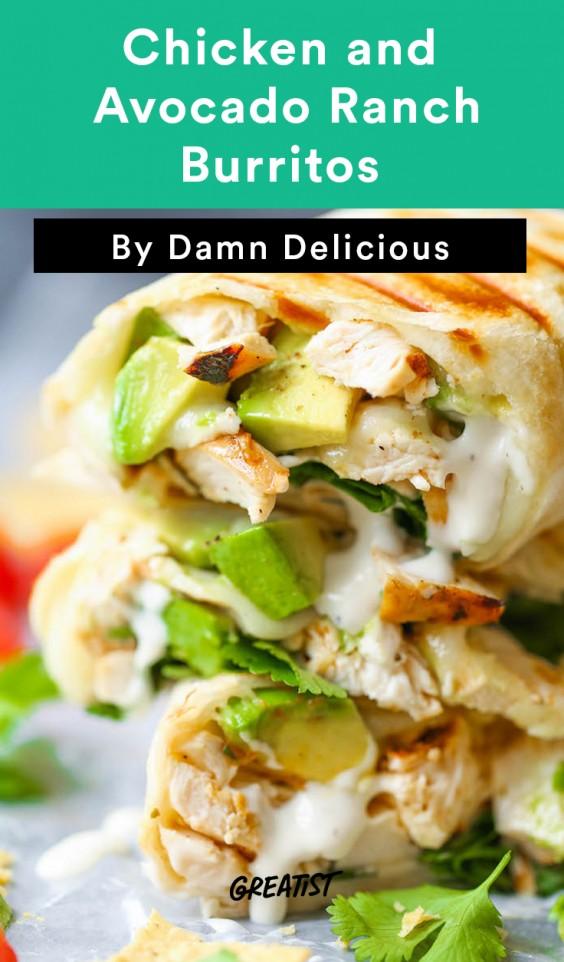 Damn Delicious 2: Ranch Burritos