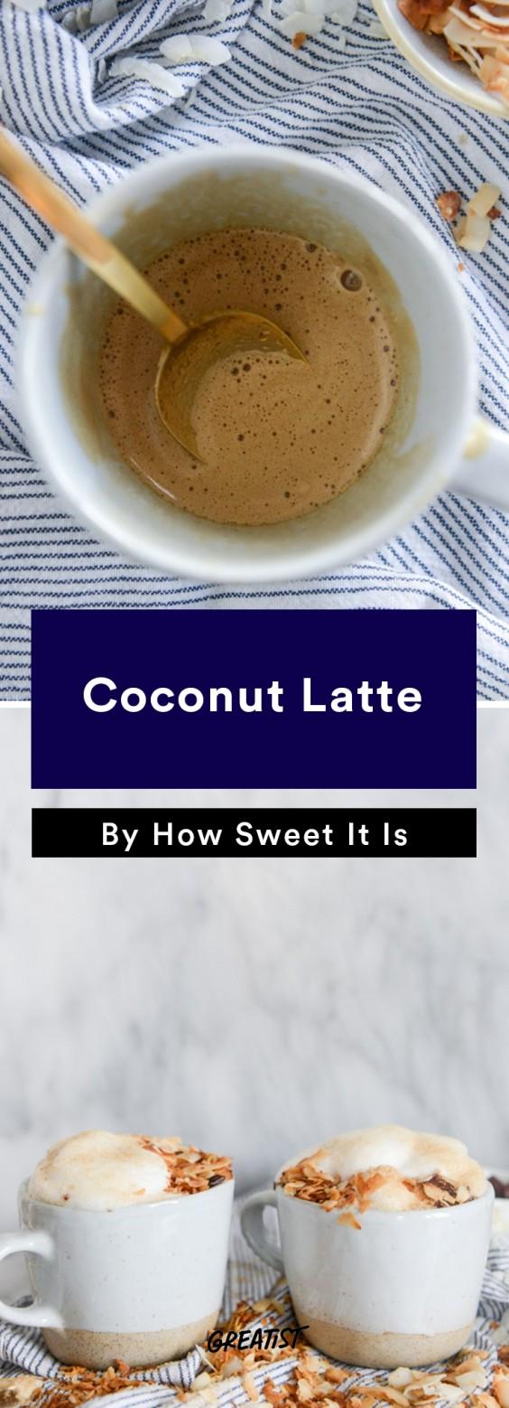 Not PSL: coconut latte