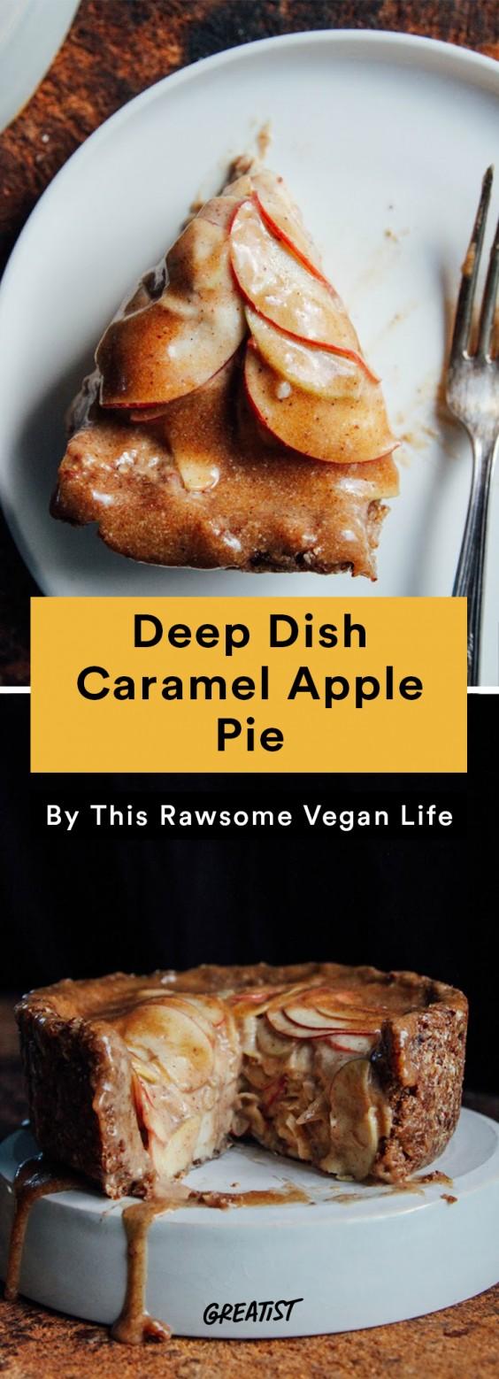 Fall Food Trends: Deep Dish Caramel Apple Pie