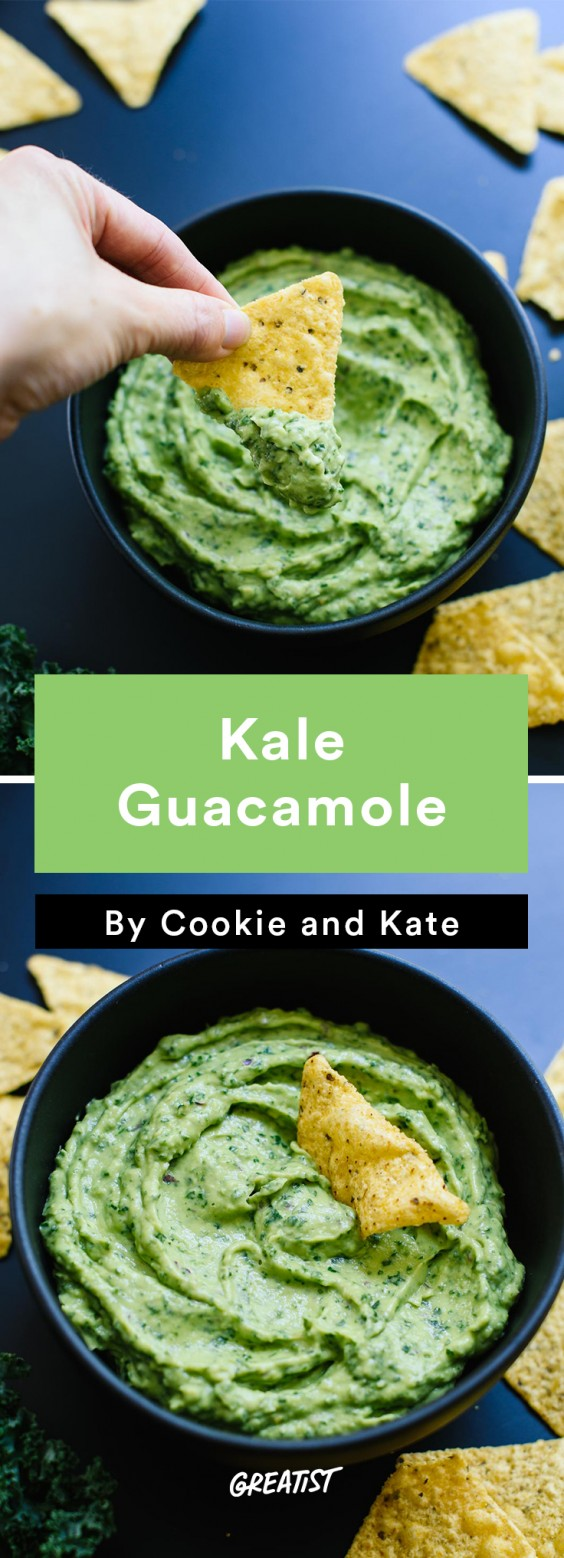 cookie and kate game day: Kale Guacamole