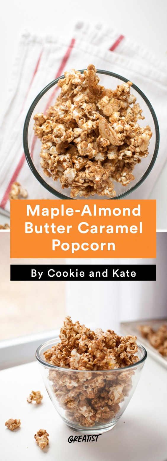 cookie and kate game day: Caramel Popcorn